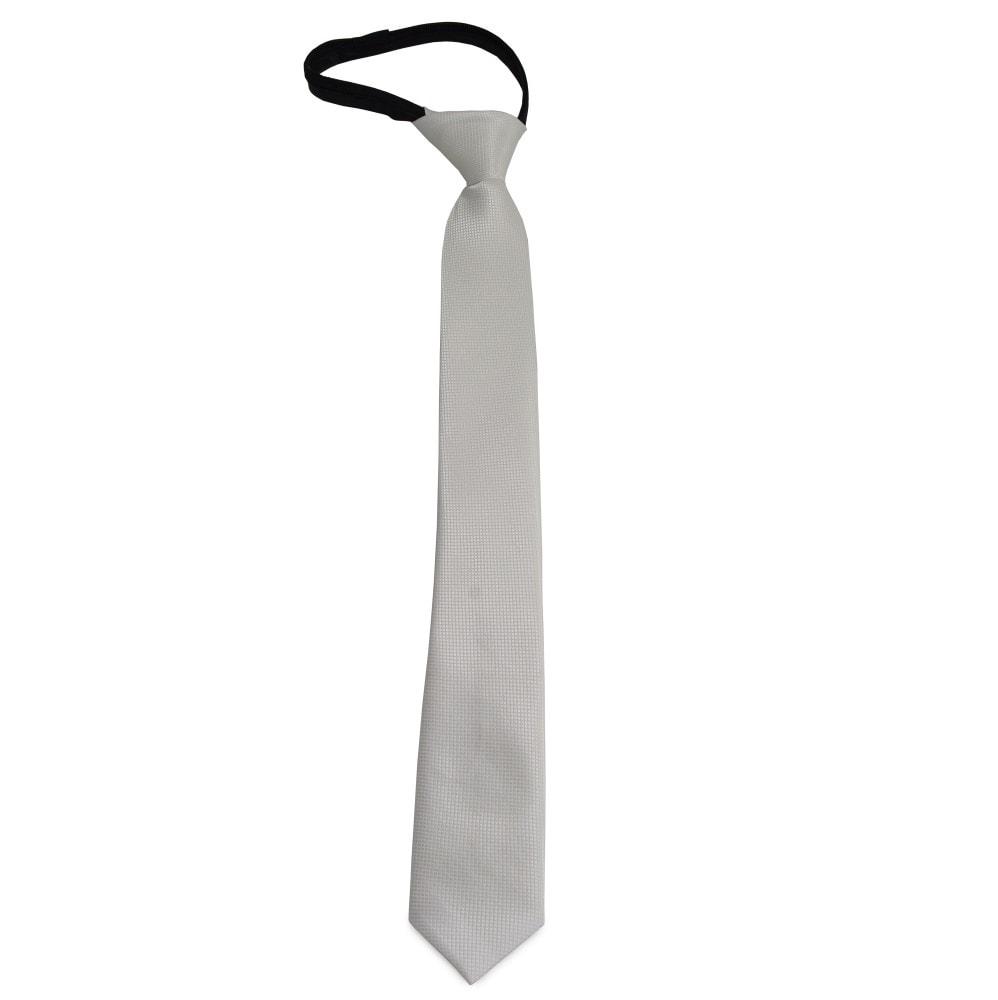 Dětská bílá kravata s jemným vzorkem - Dětské kravaty - NejKravaty.cz 85fa8eadf9